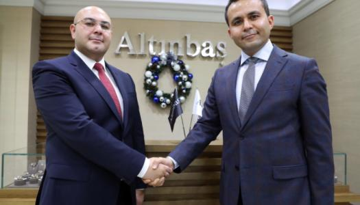 Turkey's trade attache presented the Christmas collection of Altinbas