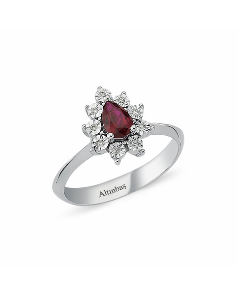 0.03 CT RING WITH DIAMOND
