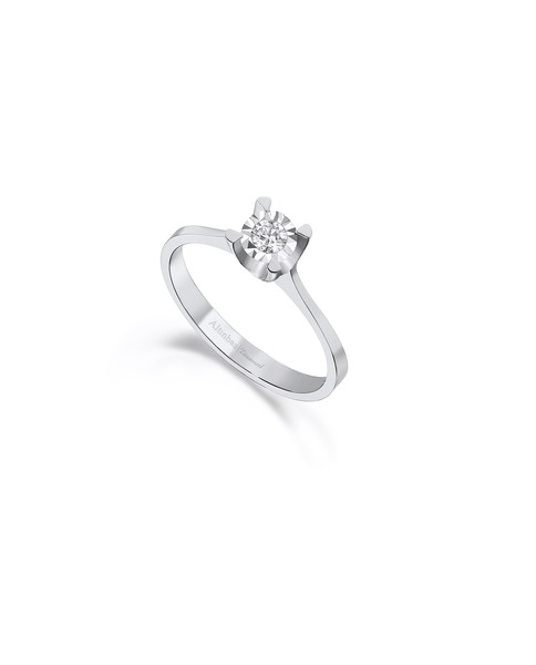 0.07 CT RING WITH DIAMOND