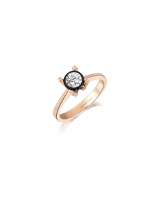 0.04 CT RING WITH DIAMOND