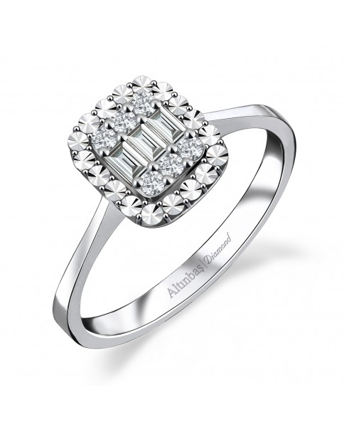 0.13 CT RING WITH DIAMOND