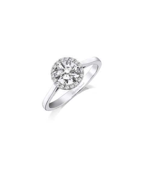 0.09 CT RING WITH DIAMOND