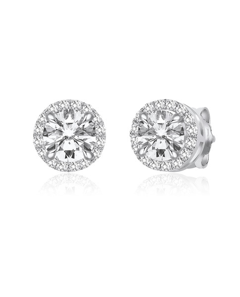 0.18 CT DIAMOND EARRINGS