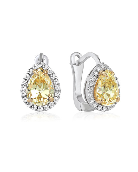 0.20 CT DIAMOND EARRINGS