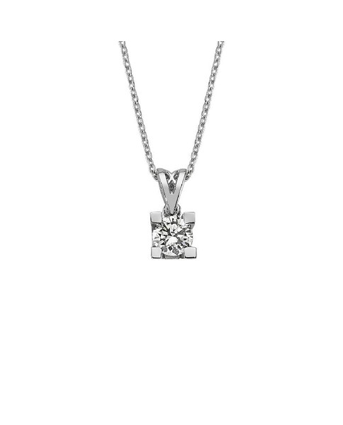 0.24 CT DIAMOND PENDANT