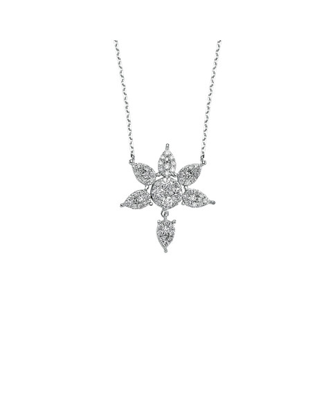 0.41 CT NECKLACE WITH DIAMOND